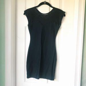 AA Black Mesh / Spandex Dress
